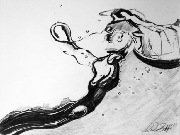 Splash Detail: Macro